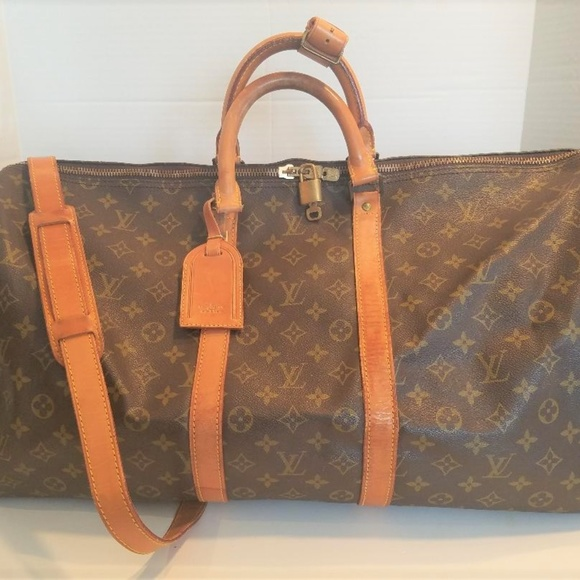 862e1d608b97 Louis Vuitton Handbags - Louis Vuitton Keepall 55 Monogram Canvas